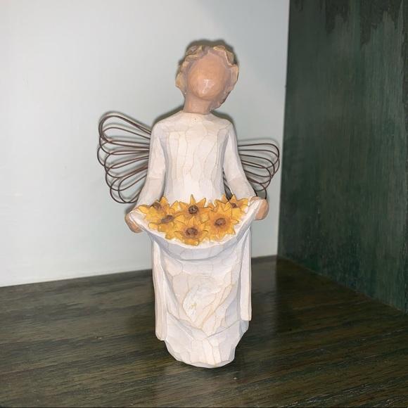 Vintage Willow Tree Angel Sunshine